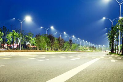 SLA street light application highway
