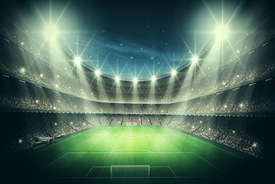 sfa led stadium lights application sports center