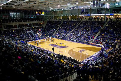 sfa led stadium lights application basketball court