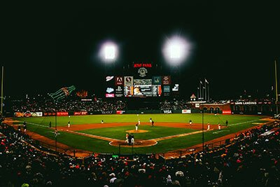 sfb stadium light application baseball stadium