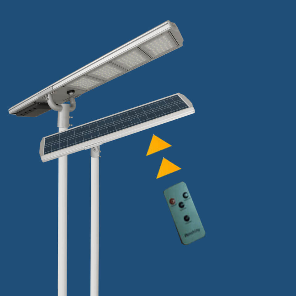 solar street lights BK smart control
