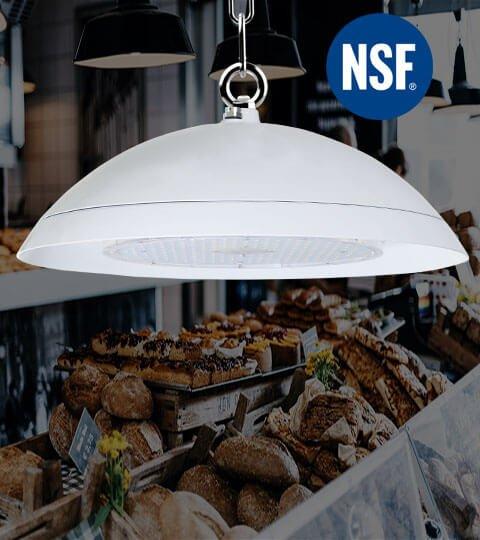 led light manufacturer high bay light show