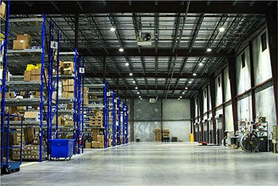 high bay sunrise 9 application warehouse