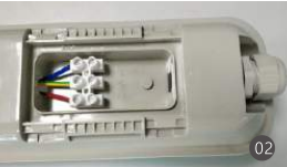 batten light wiring steps 2