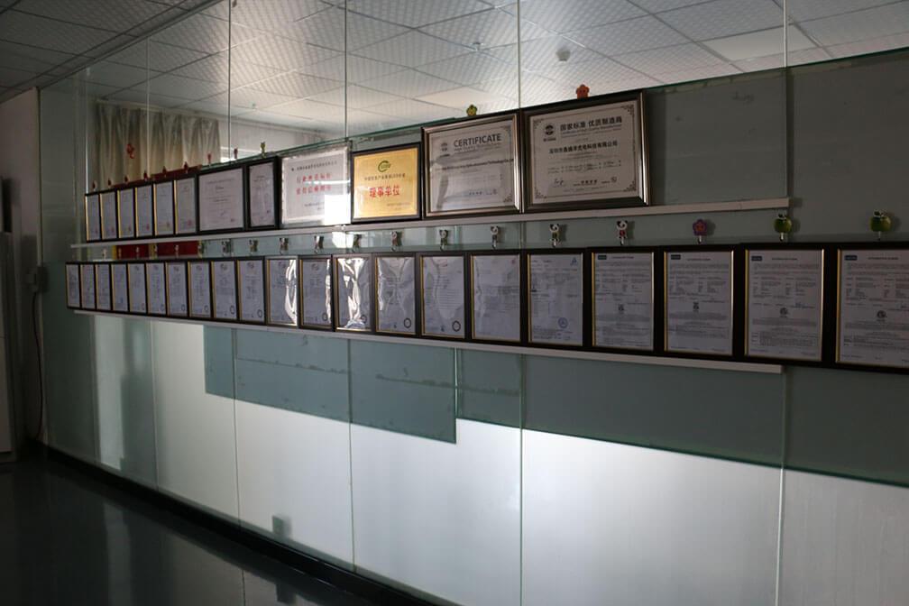 led light manufacturer led lights certifications
