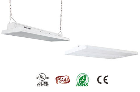 led light manufacturer latest products linear high bay