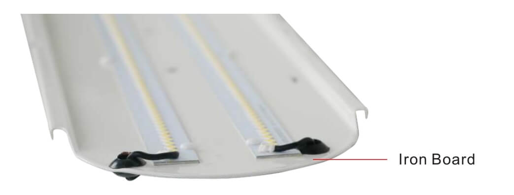 vapor-proof light fixture iron board