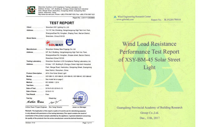 report test 1