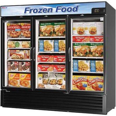 vertical food cooler