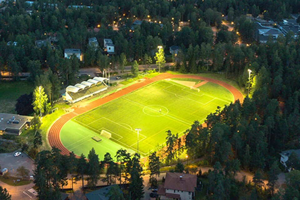 football field lighting