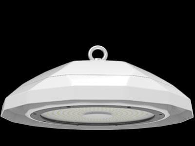 black ufo led light
