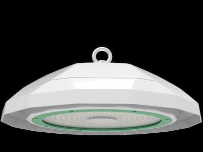 green ufo led light