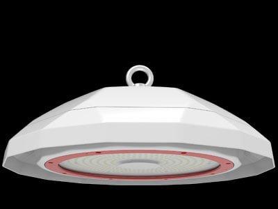 red ufo led light