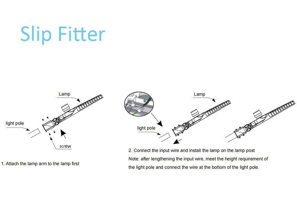 Icecrown 9 Installation 1 - Slip Fitter