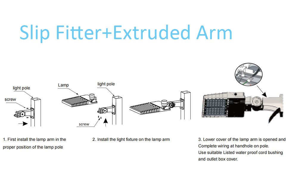 Icecrown 9 Installation 2 - Slip Fitter+Extruded Arm