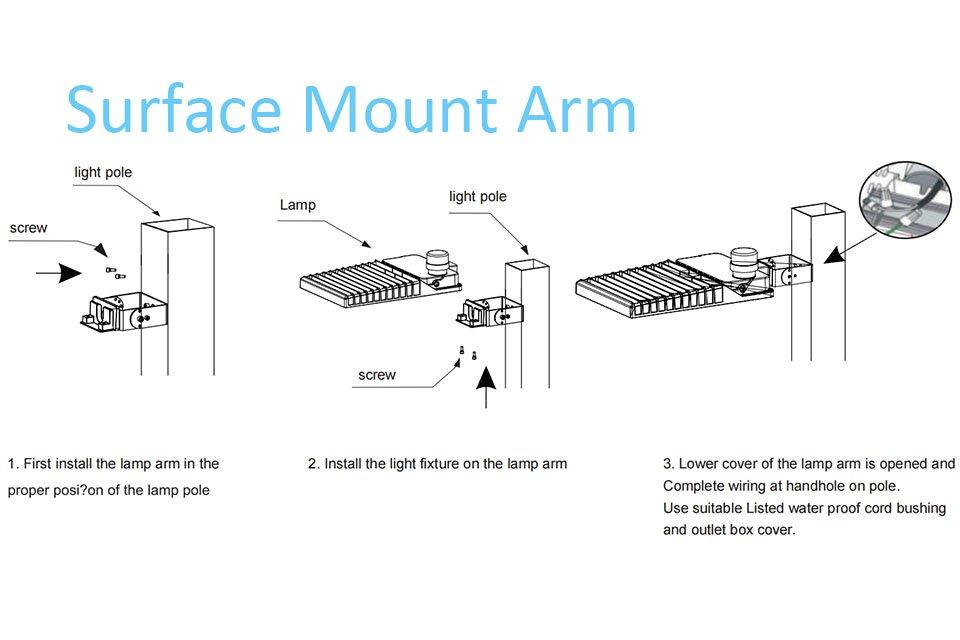 Icecrown 9 Installation 3- Surface Mount Arm