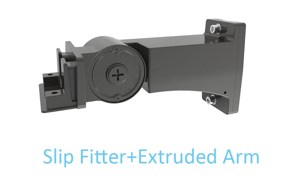 Icecrown 9 Installation Slip Fitter+Extruded Arm