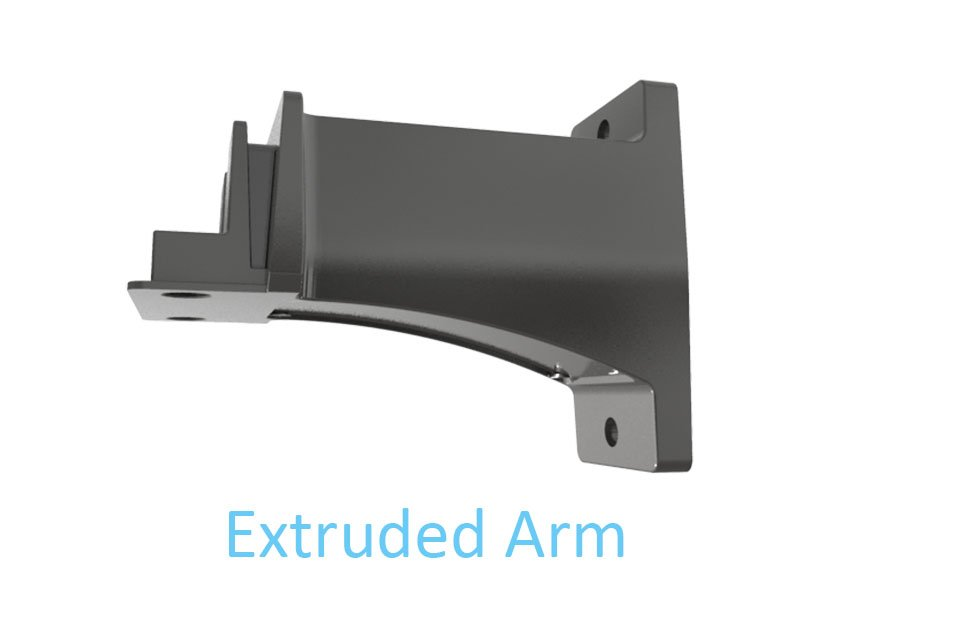Icecrown 9 installation Extruded Arm